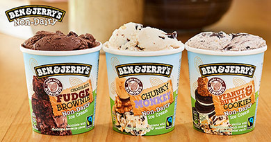 Ben & Jerry's Non-Dairy has officially arrived!