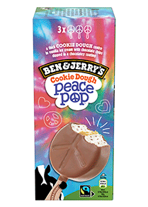 Peace Pop® Original Ice Cream Ice Cream Bar Multipack
