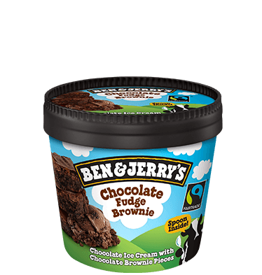 Chocolate Fudge Brownie 100ml Mini Tubs
