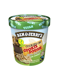 Cookies on Cookie Dough Non-Dairy Frozen Dessert