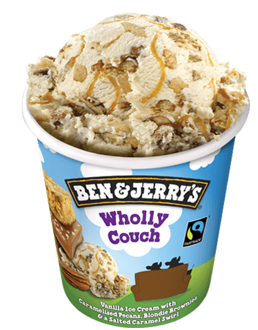 Wholly Couch Ice Cream Ben Amp Jerry S