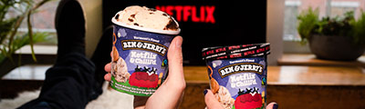 Netflix and Ben & Jerry's just became official!