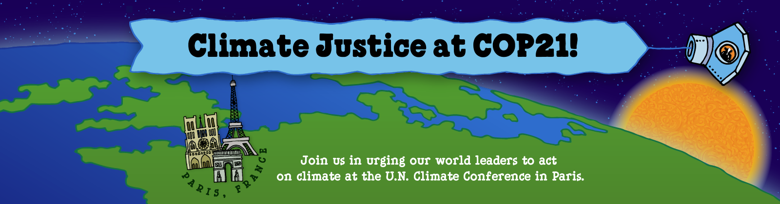 Join Ben & Jerry's and the world in urging world leaders to act on climate at UN Climate Conference in Paris