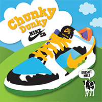 From Licks To Kicks: Nike SB Launches Ben & Jerry's Chunky Dunky Sneakers