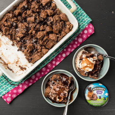 You Should Make: Chocolatey Bread & Butter Pudding!