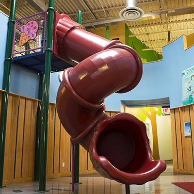 Slide at Ben & Jerry's