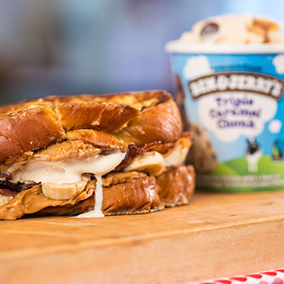 Ben & Jerry's Bacon Breakfast Sandwich