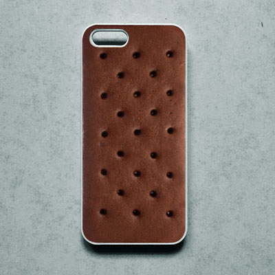 Ice cream sandwich phone case
